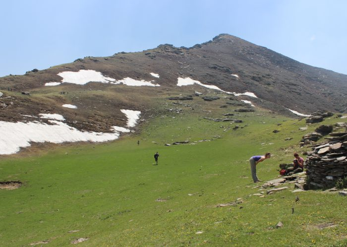 Pasture land Kedarkantha trek